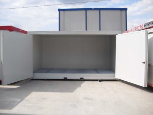 Box stoccaggio materiale inquinante