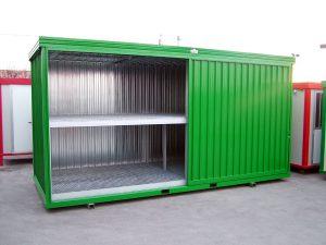 Box stoccaggio materiale inquinante