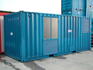 Container modificato per uso abitativo