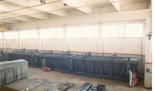 Cassaforma per la costruzione di piastri in cemento