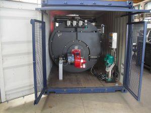 Container modificato per contenimeto cisterna