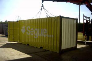Container modificato per esposizione