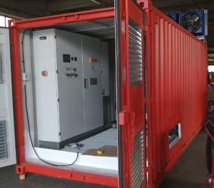 Container modificato per inverter