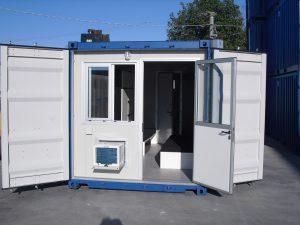 Containers modificato per uso abitativo