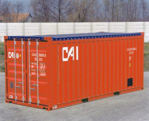 Containers open-top