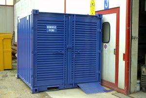 Containers per contenimento bombole