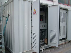 Containers per inverter