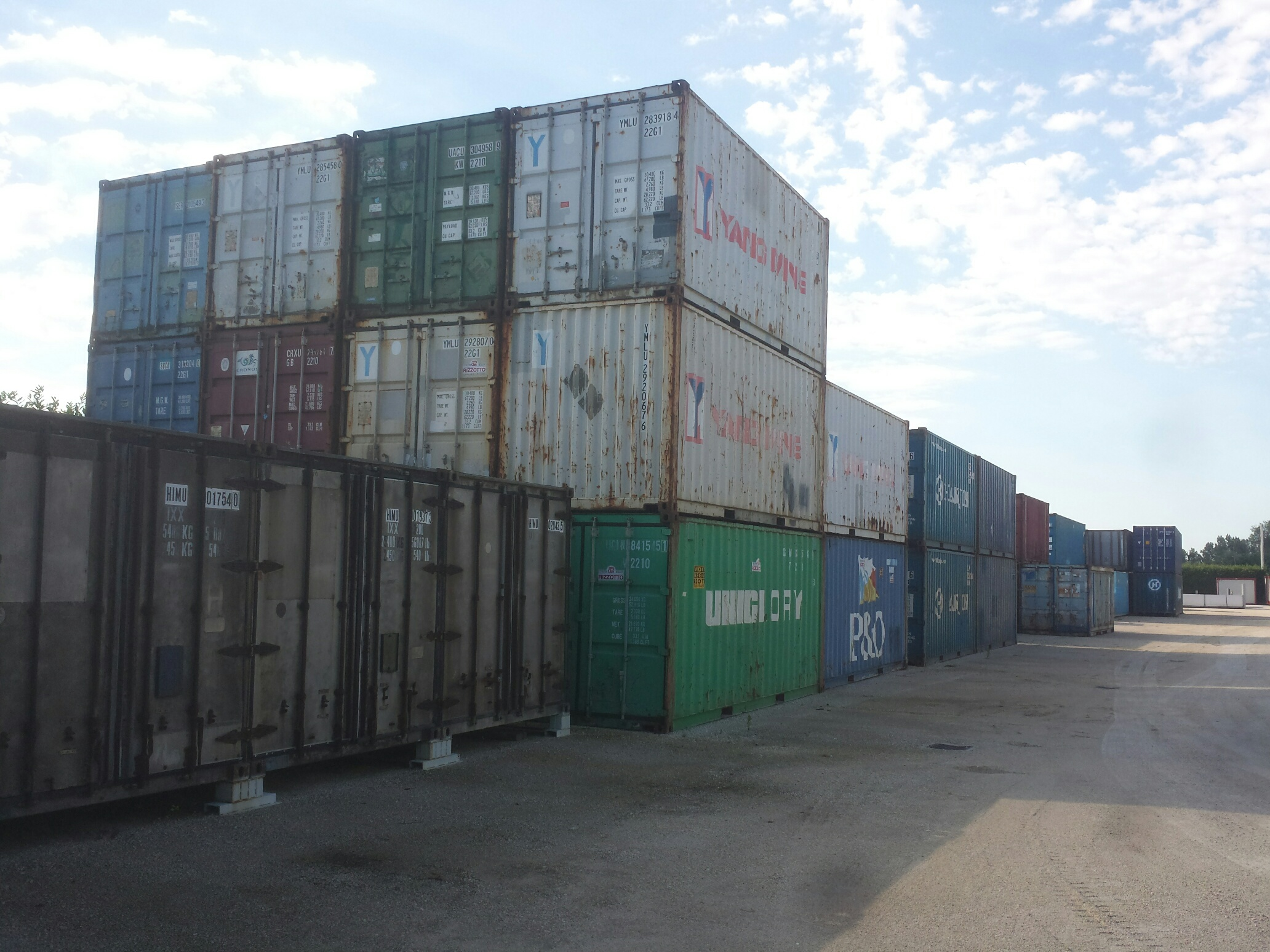 Containers usati ad uso magazzino in pronta consegna a prezzi vantaggiosi