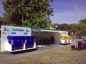 Ecocentro mobile su cassone scarrabile