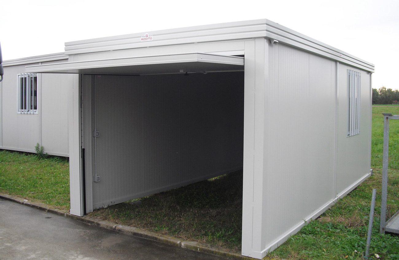 Box auto rizzotto costruzioni metalliche - Garage mobile per auto ...