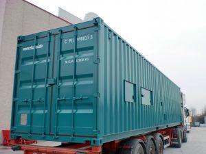 Containers per depurare l'acqua dell'Australia
